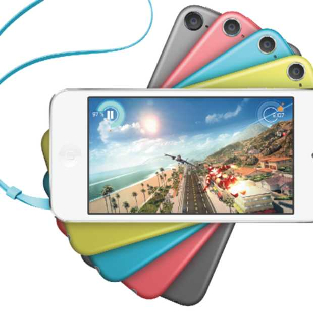 iPod touch nu ook verkrijgbaar in opvallende kleuren en met iSight camera