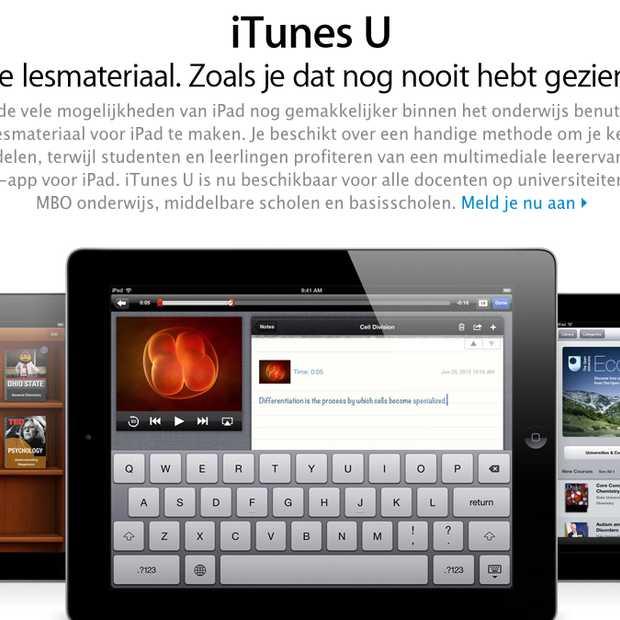 iTunes U content meer dan 1 miljard keer gedownload