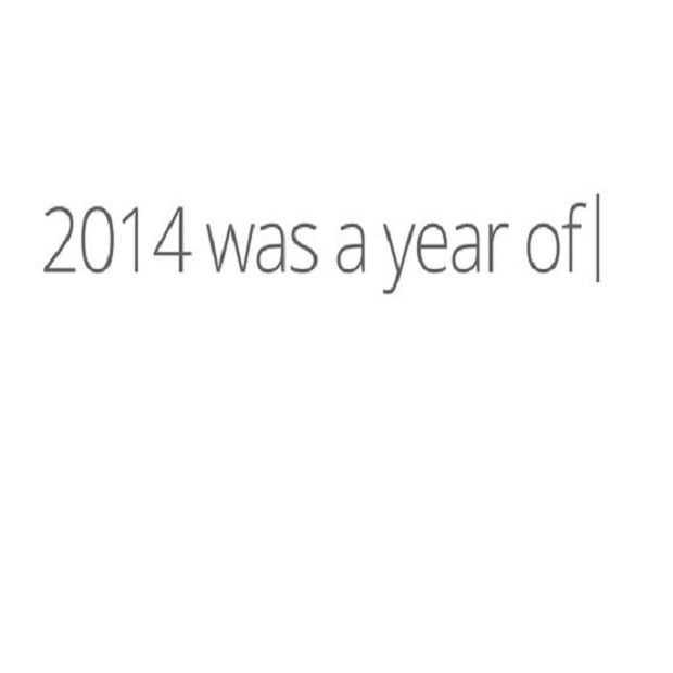 Een jaaroverzicht om niet te vergeten