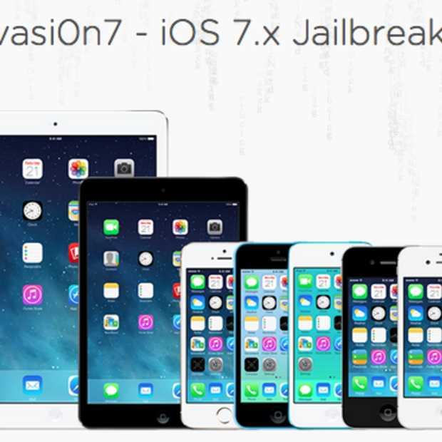 Jailbreak beschikbaar voor iOS 7