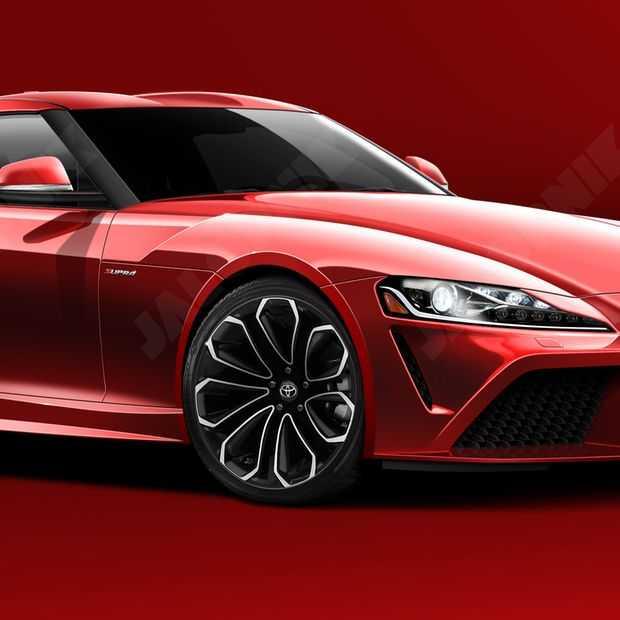 De nieuwe Toyota Supra gaat er zo uitzien