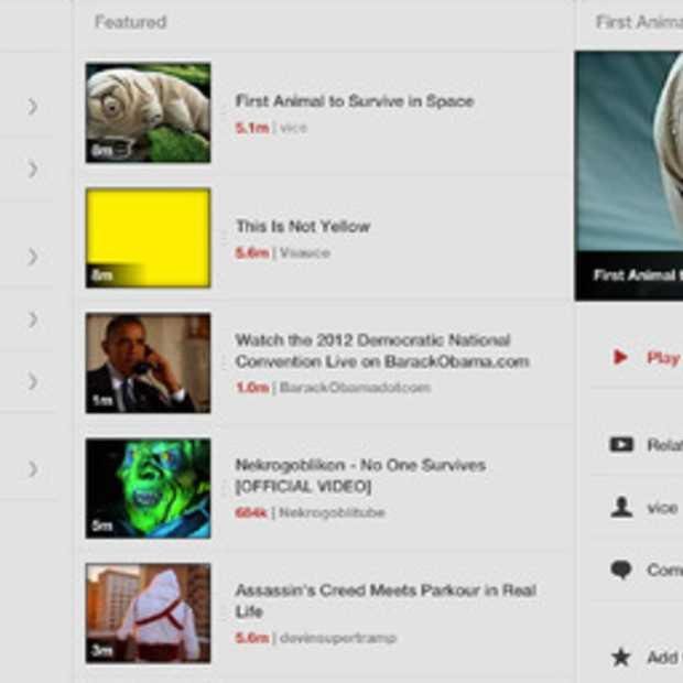 Jasmine goed alternatief voor YouTube app op je iPad en iPhone