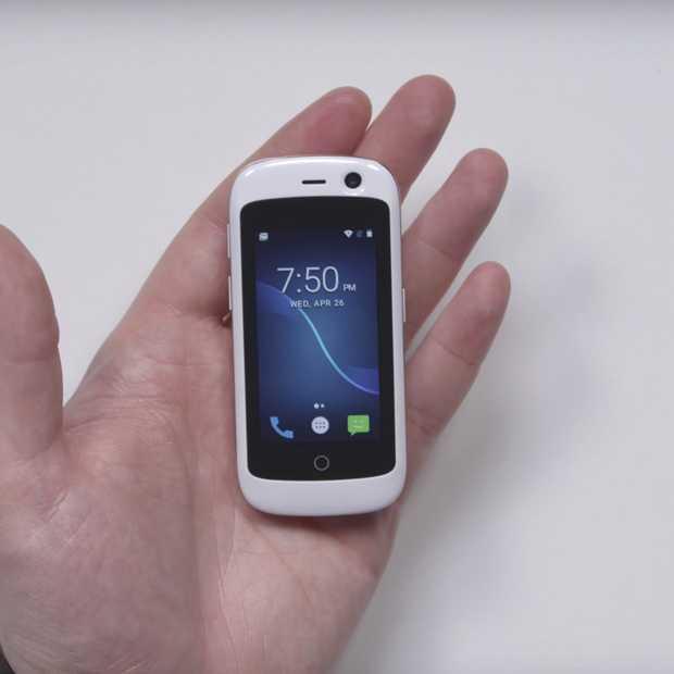 Dit is Jelly: 's werelds kleinste smartphone mét 4G