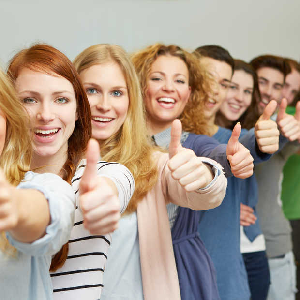 Jongeren zijn positiever richting 2014 dan ouderen