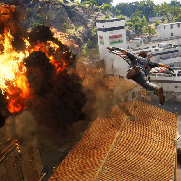 Gamescom 2015: Just Cause 3 explodeert