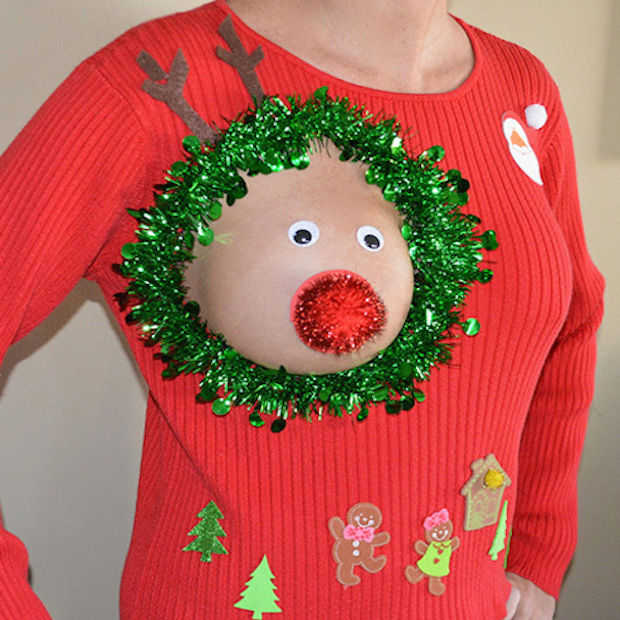 De 13 meest foute kersttruien ooit!
