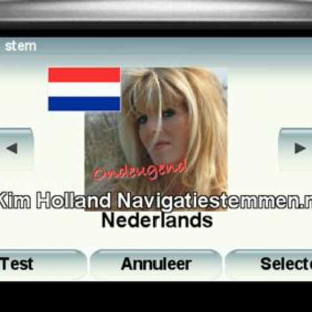 Kim Holland meest populaire stem in navigatiesysteem