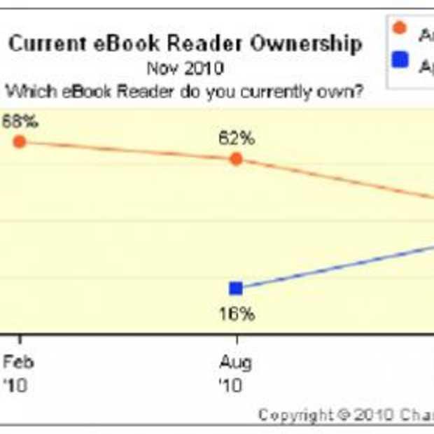 Kindle ziet marktaandeel in rook opgaan