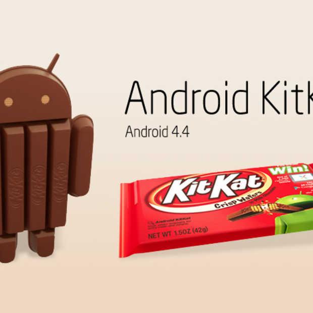KitKat na 6 maanden op slechts 10% van alle Android devices
