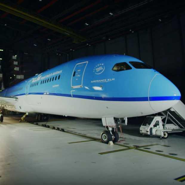 Zo ziet de nieuwe Boeing 787 Dreamliner van KLM er van binnen uit!
