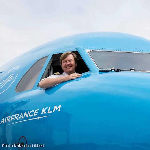 Wist je dat Koning Willem-Alexander piloot van KLM is?