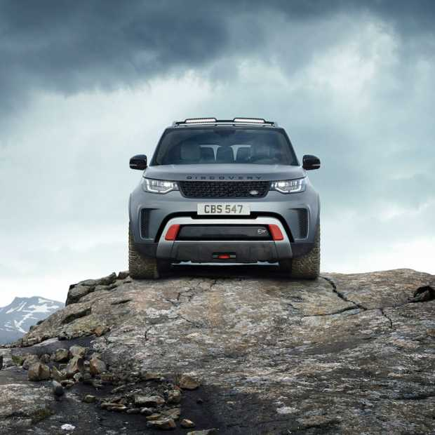 Discovery SVX: de meest extreme Land Rover ooit