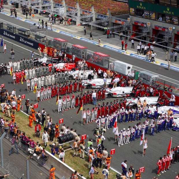 Geweldige uitputtingsslag: 24 Uur van Le Mans