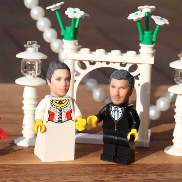 Een 3d-print van jouw eigen hoofd in LEGO