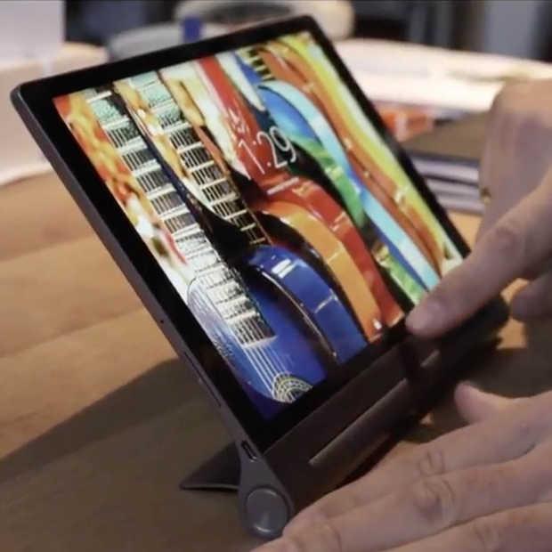 Met deze Yoga Tablet 3 cinema-Sleeve kijk je overal jouw favoriete films & series