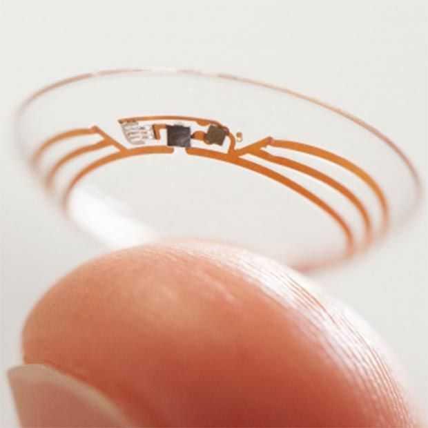 Google werkt samen met Novartis voor het maken van 'Smart Contact Lenses'