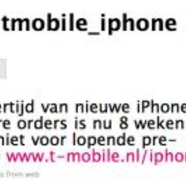 Levertijd iPhone 8 weken