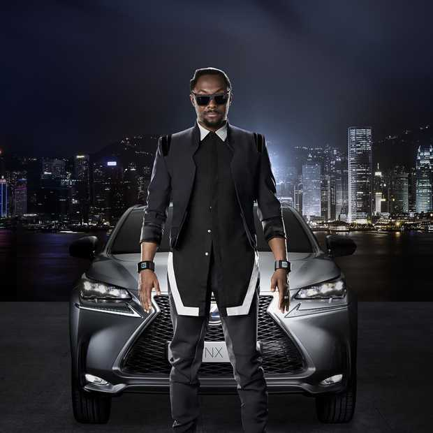 Lexus strikt Will.i.am voor NX campagne