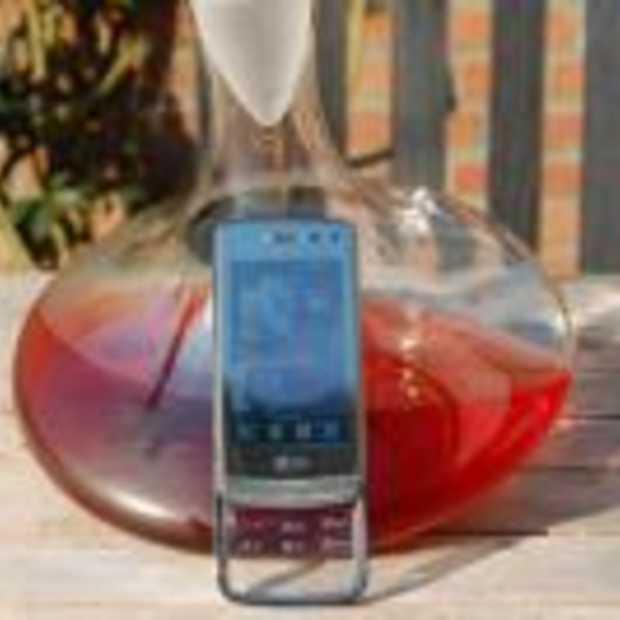 LG Crystal, een glashelder mobieltje