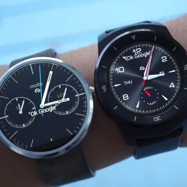 LG G Watch R vs Moto 360 (video)