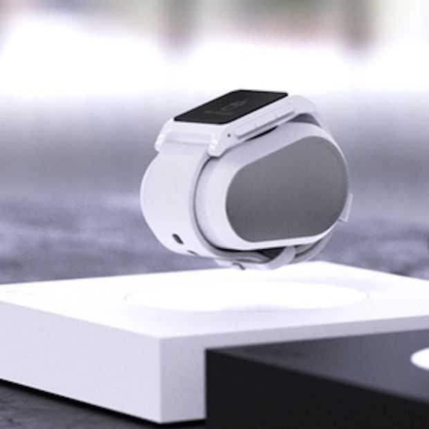 Lift: de oplader die je smartwatch zwevend oplaadt