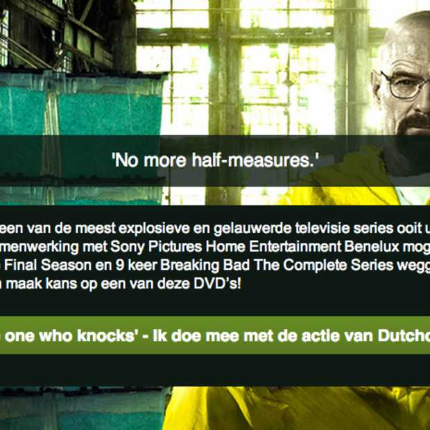 Like & Win: Maak kans op 25x de DVD 'Breaking Bad Final Season' en 9x de DVD box 'Breaking Bad The Complete Series'
