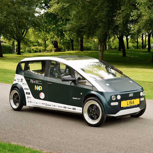 De eerste auto van biocomposiet komt van TU Eindhoven