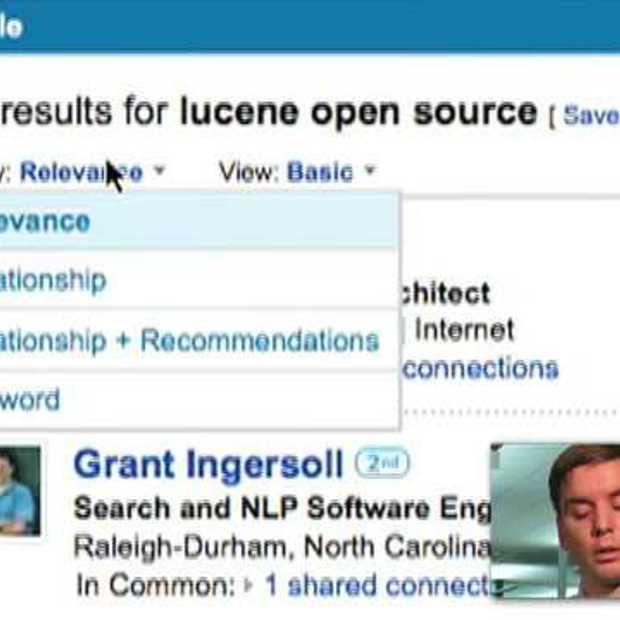 Nieuw LinkedIn Search platform