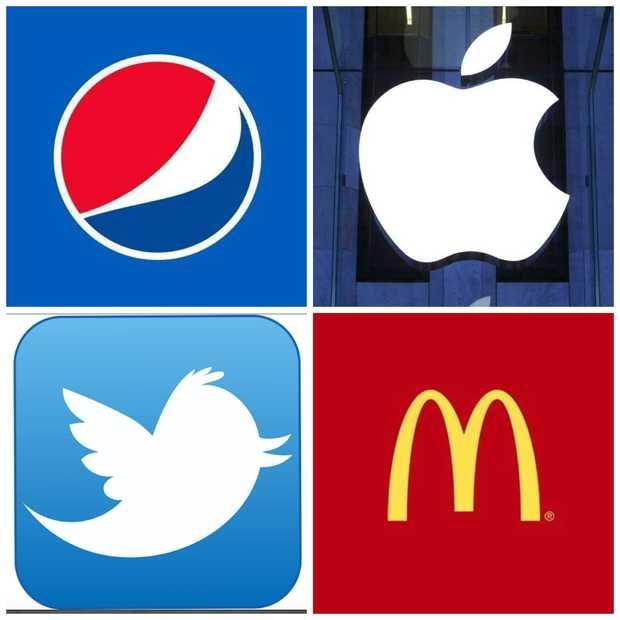 Zoveel veranderden deze 20 bekende logo's in de afgelopen jaren