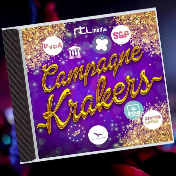 Weer dolle pret in Zondag met Lubach: de beste campagnekrakers