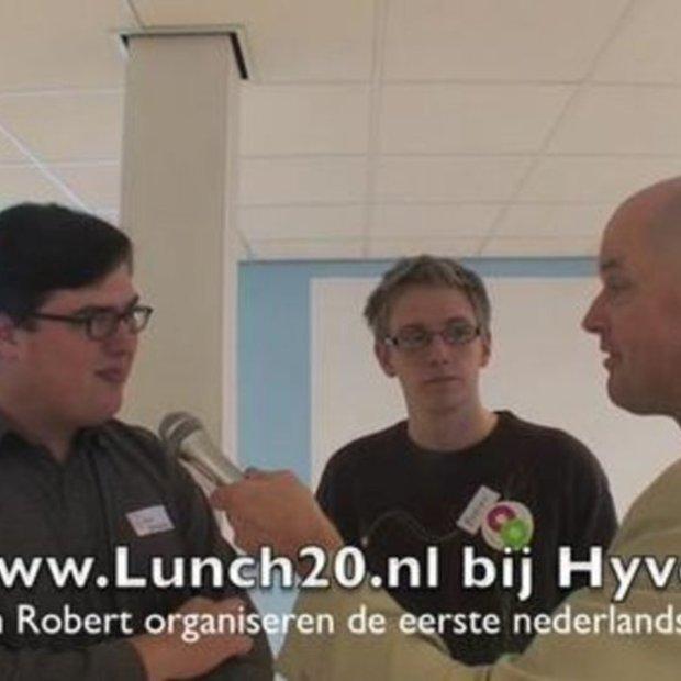 Lunch 2.0 in Amsterdam bij nieuwe Hyves kantoor