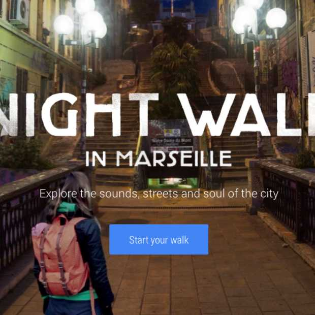 Maak een virtuale wandeling door de straten van Marseille met Google Night Walk