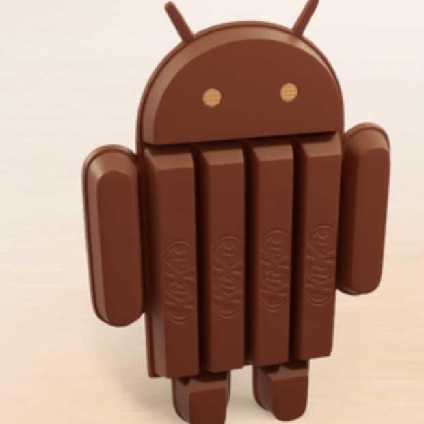 Maandcijfers Android: aandeel Jelly Bean weer gestegen, KitKat doet voor het eerst mee