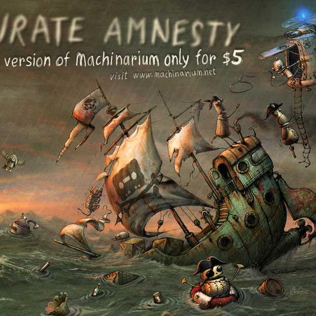 Machinarium geeft piraten voordeel van de twijfel