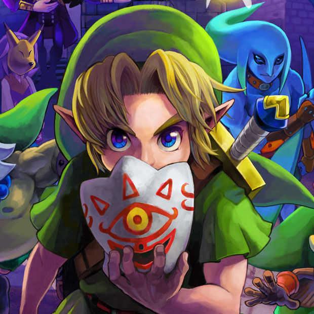 Zelda: Majora's Mask 3D is precies op tijd