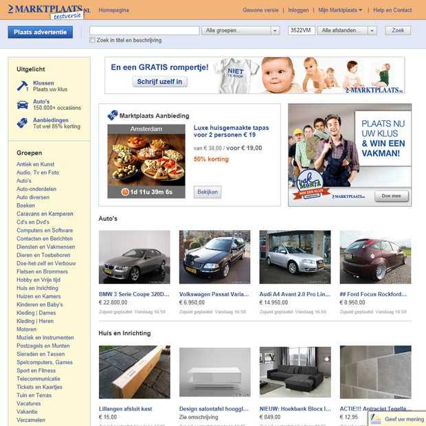 Marktplaats werkt samen met gebruikers aan vernieuwing