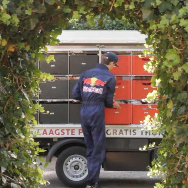 Picnic reclamestuntje met Max Verstappen look-a-like