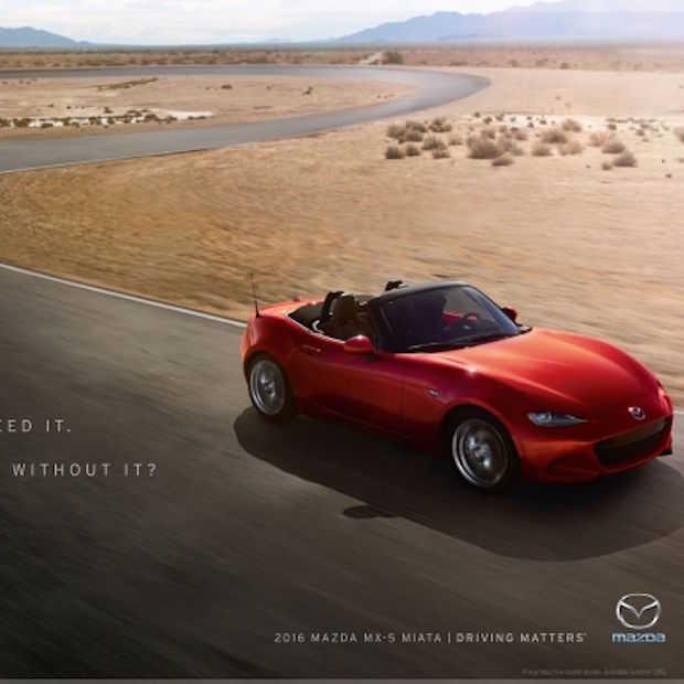 Breaking Bad's Aaron Paul doet Mazda campagne