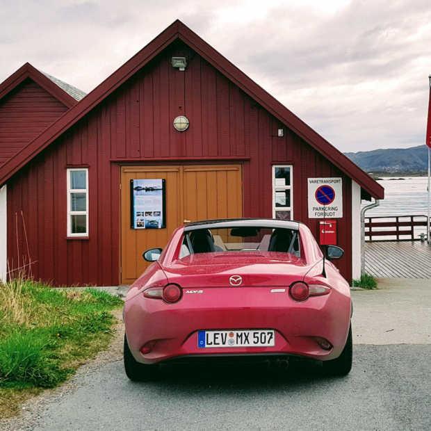 Met de Mazda MX5 RF roadster op avontuur in Noorwegen