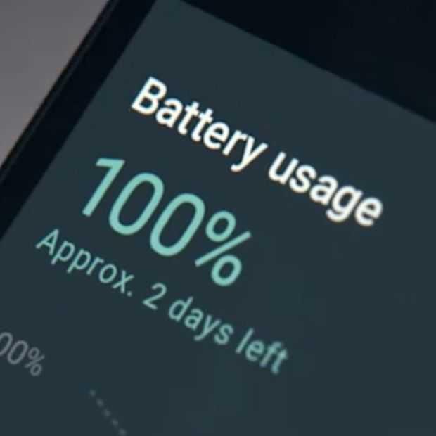 Er komen steeds meer smartphones met hele grote batterijen