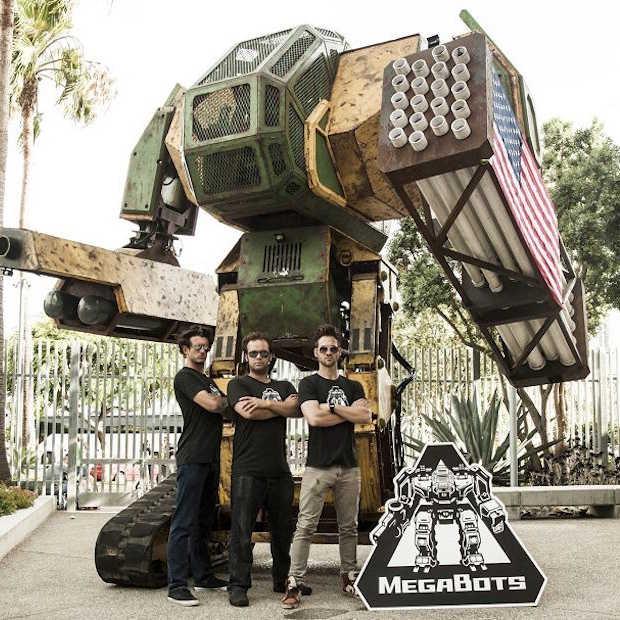 Team USA start Kickstarter campagne voor robotgevecht tegen Japan