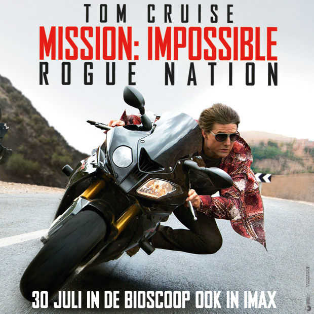 Win: 2x2 kaarten voor de première van ​MISSION: IMPOSSIBLE - ROGUE NATION