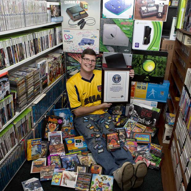 Michael Thomasson verkoopt zijn record verzameling aan games voor $750.000