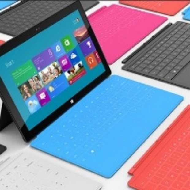 Microsoft: 'Kleinere Windows 8-tablets in aankomst'