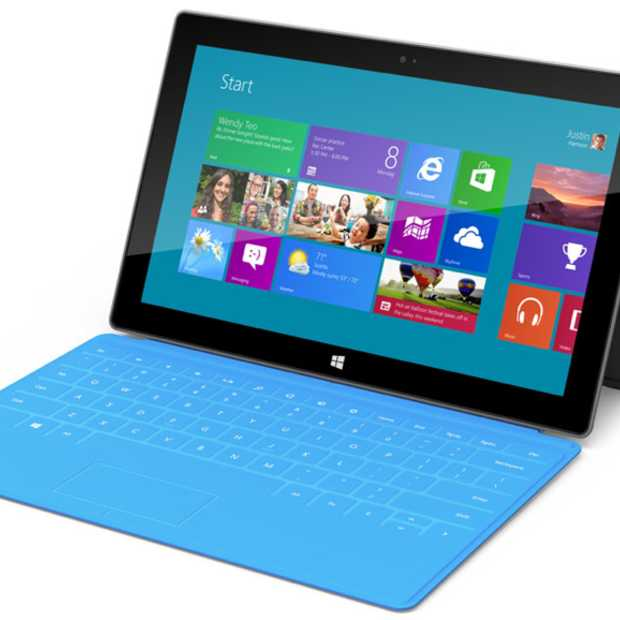 Microsoft presenteert Surface tablet/computer