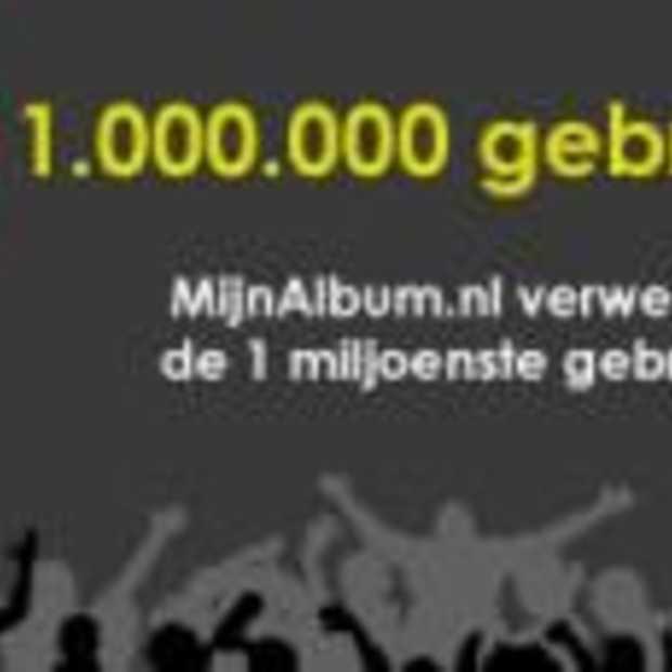MijnAlbum.nl verwelkomt 1-miljoenste lid