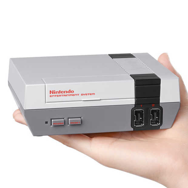 Retro: Nintendo lanceert in november een Mini-NES