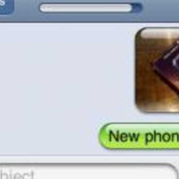 MMS'en vanaf  de iPhone