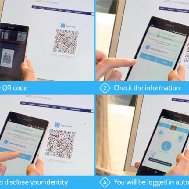 MobyFace, technologie voor veilig inloggen, op Kickstarter