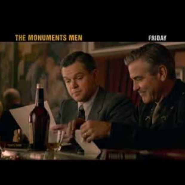 Trailer Monuments Men #SuperBowl